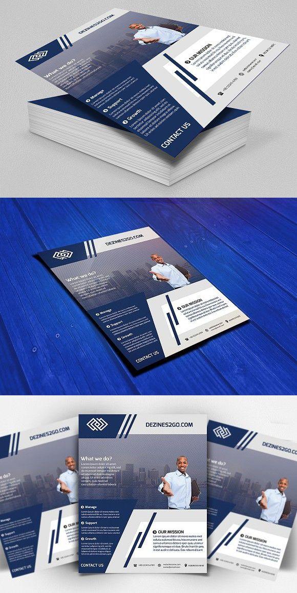 Corporate Business Marketing Flyer Marketing flyers, Corporate