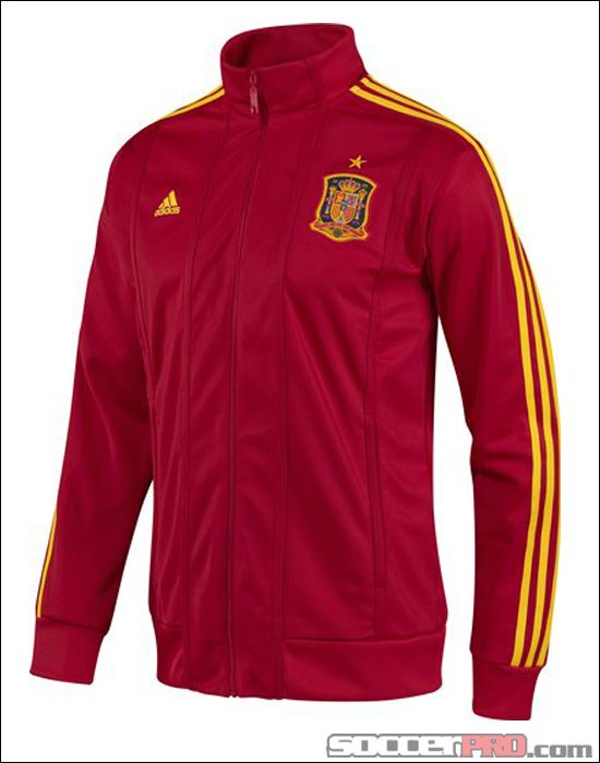 adidas Mens Spain World Cup Track Top Jackets