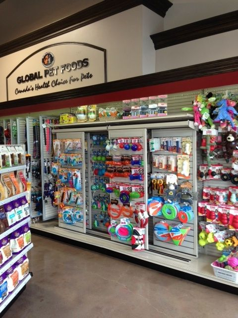 Another New Global Pet Foods Store Is Now Open The Store Is Located At 2361 Brimley Road Huntingwood Brim Pet Store Display Pet Store Ideas Pet Store Design