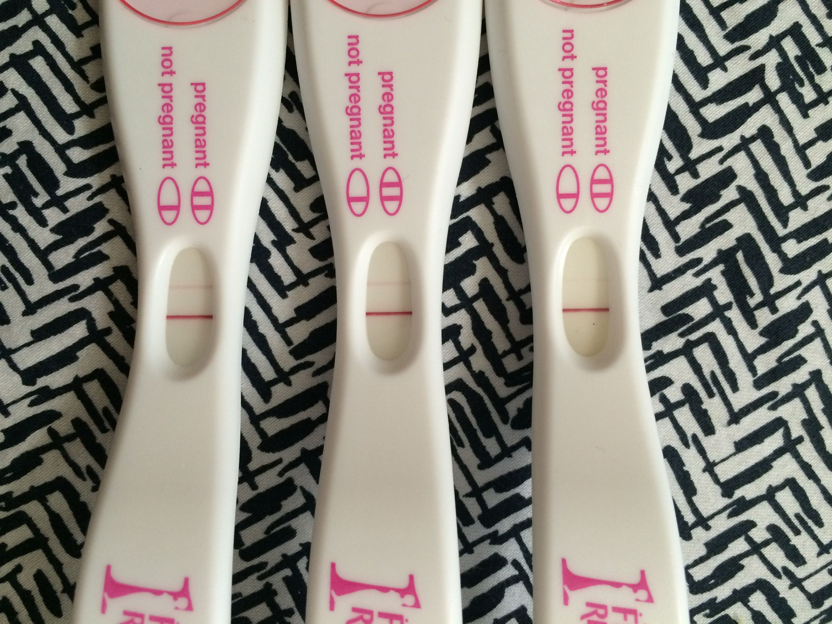 First Response Early Result Pregnancy Tests 11DPO 12DPO