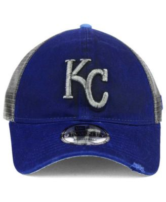 0072721c1 New Era Kansas City Royals Rustic Trucker 9TWENTY Snapback Cap ...
