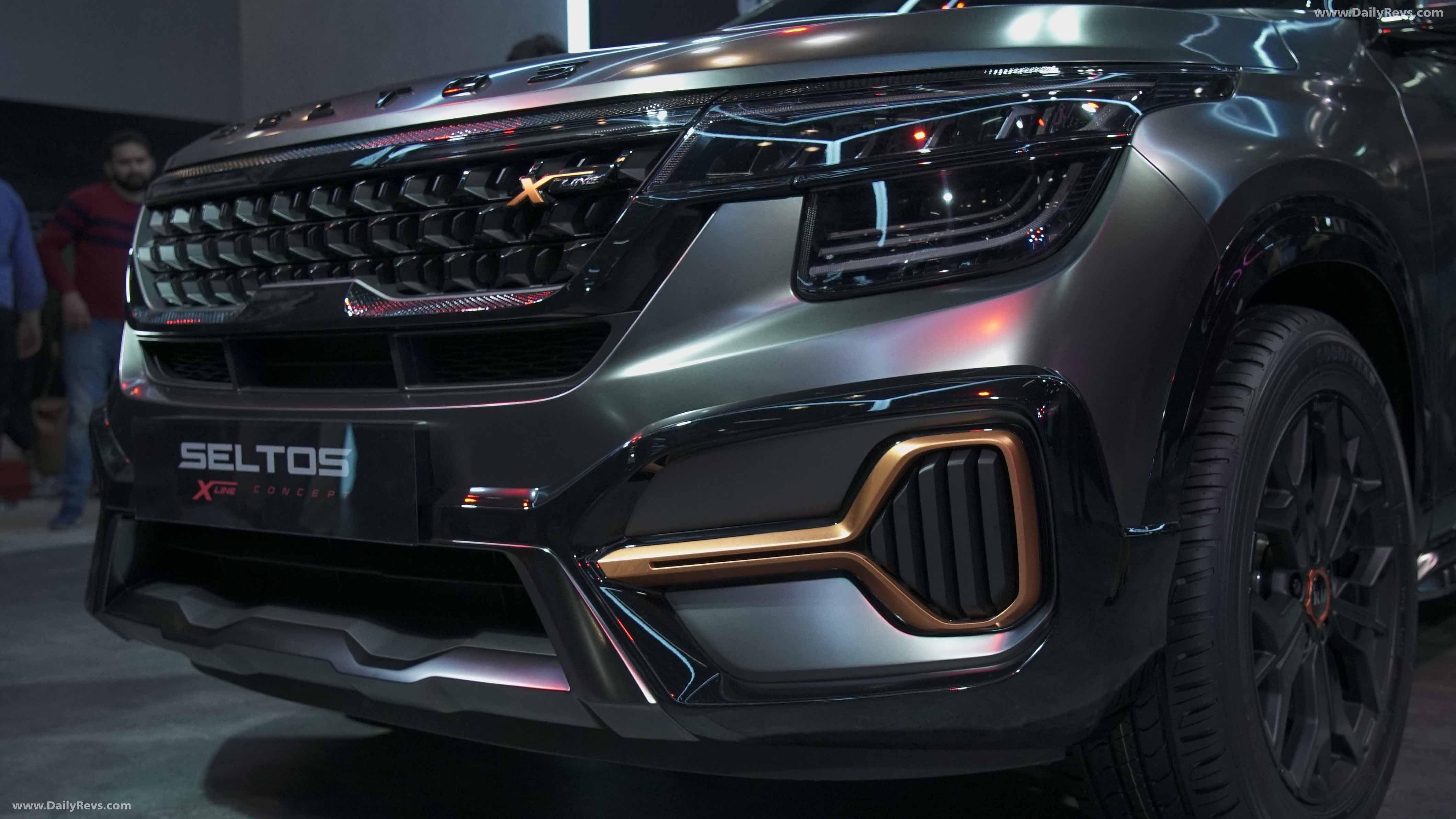 2020 Kia Seltos X Line Dailyrevs In 2020 Kia Kia Motors New Cars