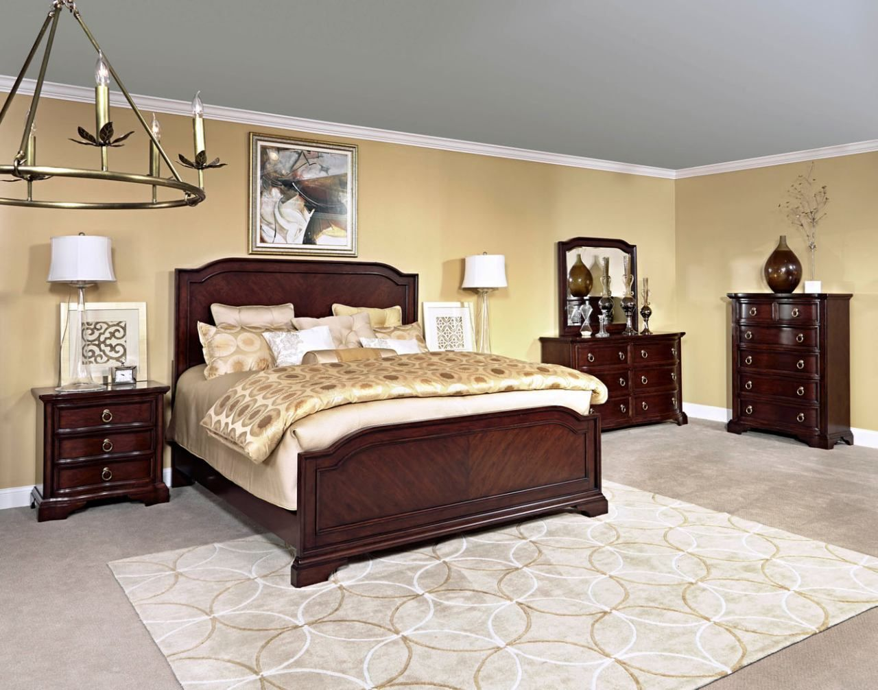 Shop For The Broyhill Furniture Elaina King Bedroom Group At Becker  Furniture World   Your Twin Cities, Minneapolis, St.
