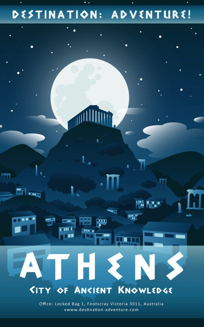 , Athens poster by Autumn-Gracy on DeviantArt, My Travels Blog 2020, My Travels Blog 2020