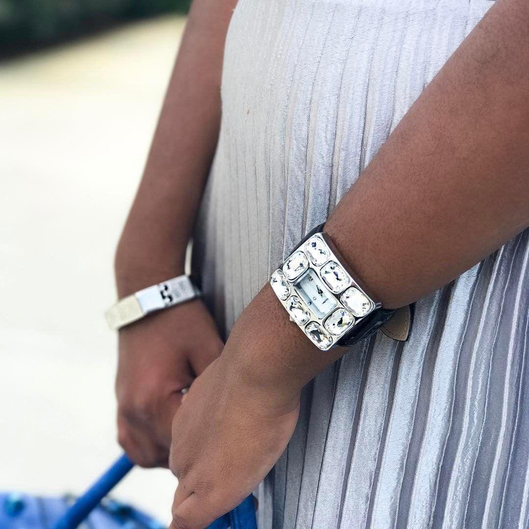 Fashionably Late Watch and Octagon Bracelet #TraciLynnJewelry