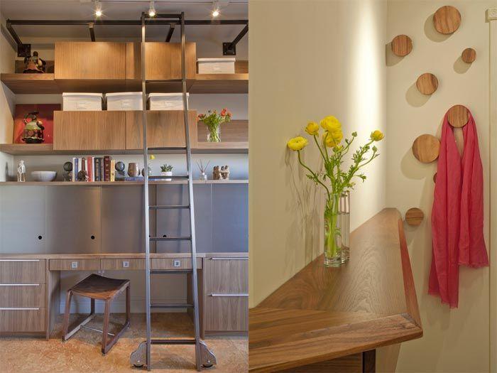 Una cocina abierta al salón y al comedor · an open space concept ...