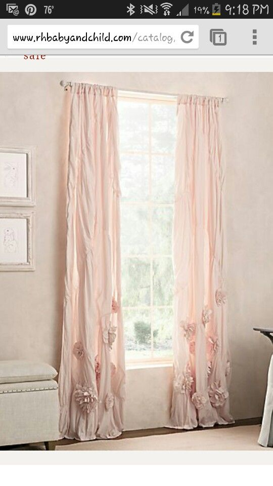 Restoration Hardware Curtains For Baby Girl Baby Room Curtains