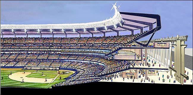 Yankee Stadium New 161st Street Bronx Yankee Stadium Stadium Ballparks