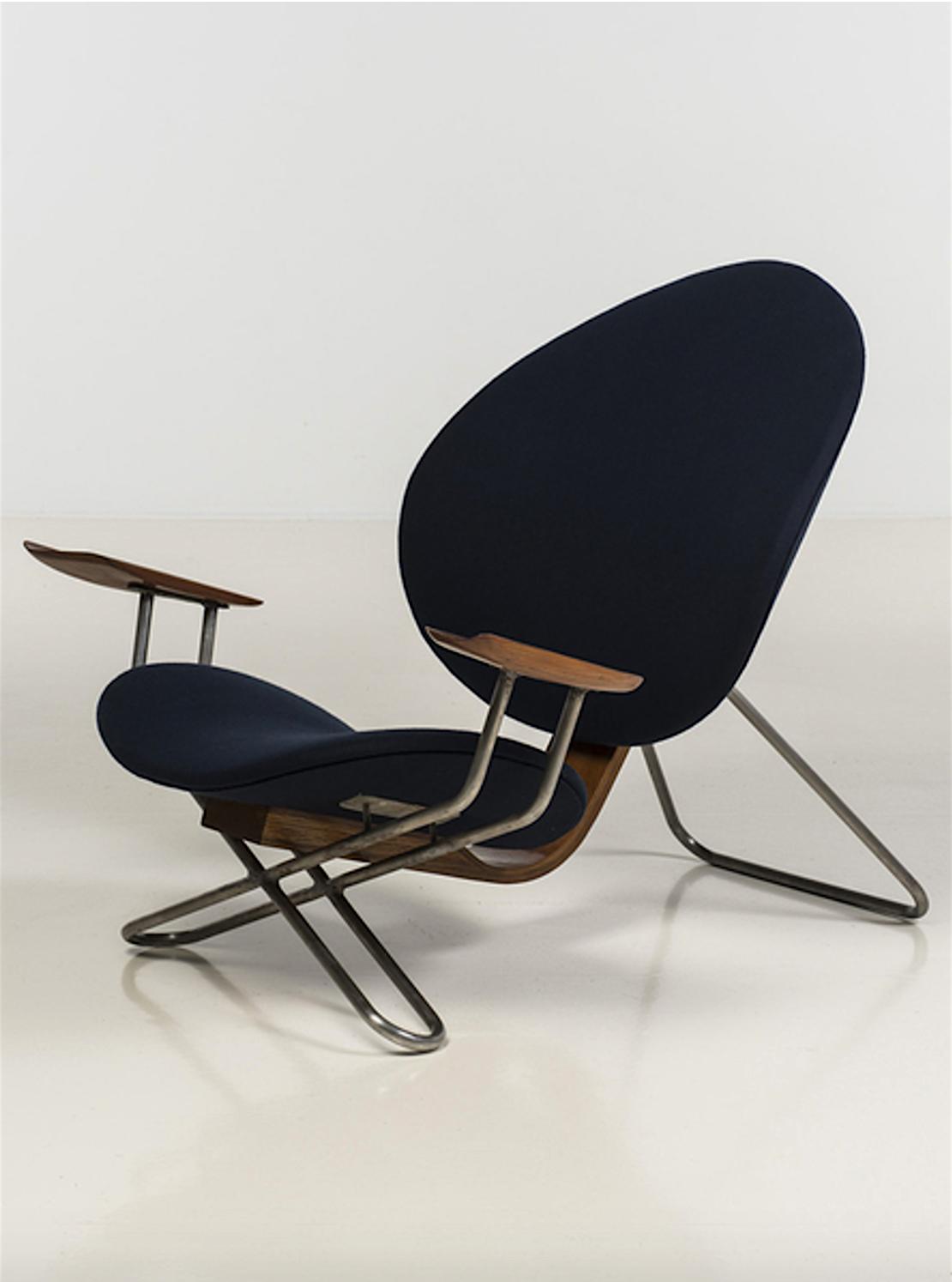 Erik magnussen attribu fauteuil 1960 piasa auctions - Modernes mobeldesign ...