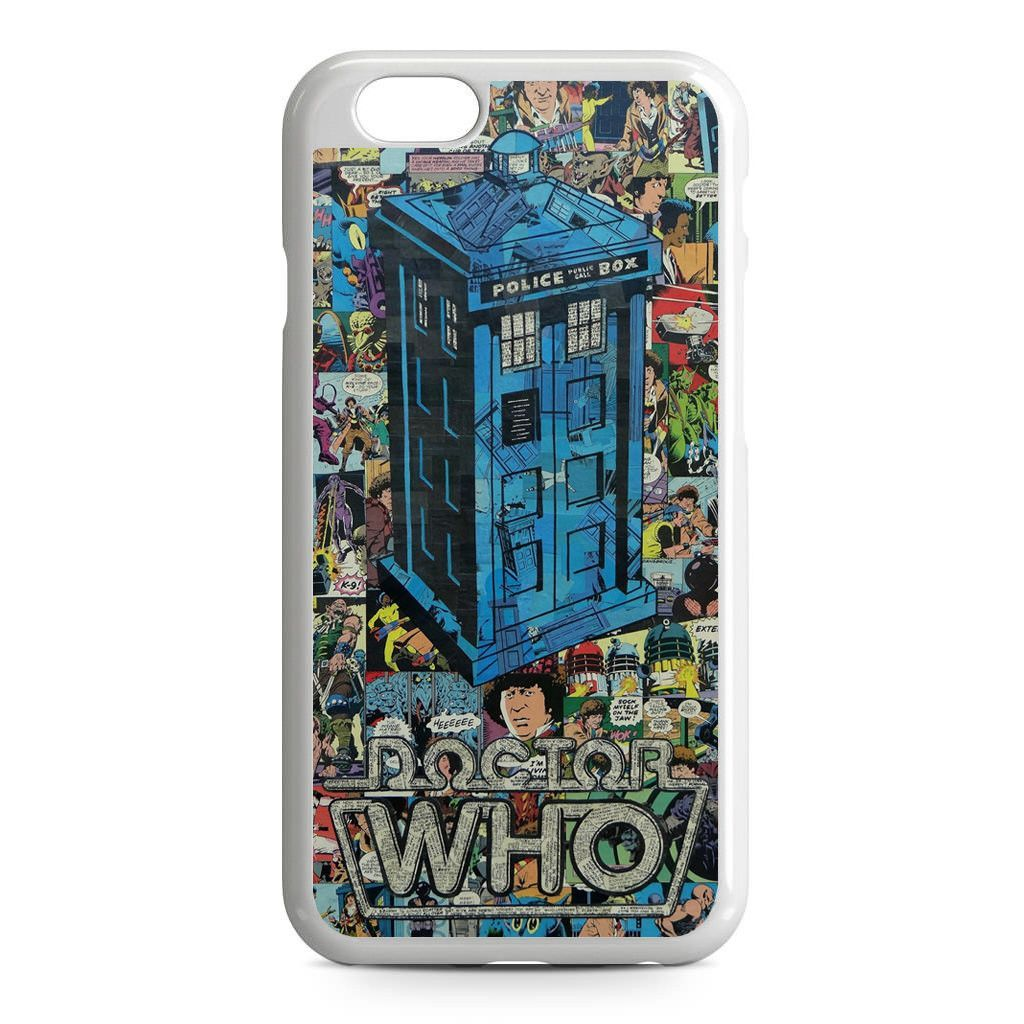 Police Box Doctor Who Comic iPhone 6 Case