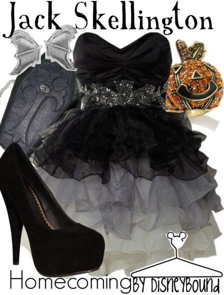This website is awesome!! Jack Skellington inspired outfit