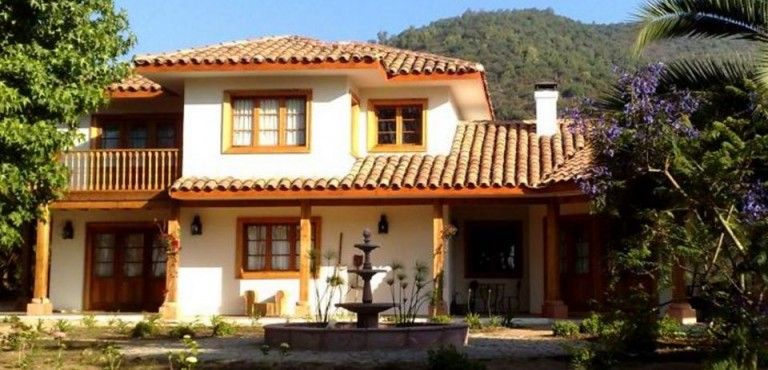 Fachadas De Casas De 2 Pisos Estilo Colonial House En