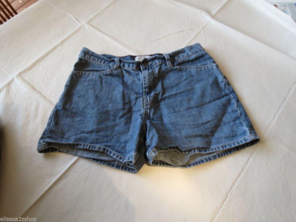 Women's Tommy Hilfiger Jeans denim shorts blue 10 EUC 0264467 pre-owned# #TommyHilfiger #CasualShorts