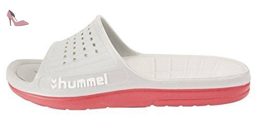 60-189, Chaussures de Plage & Piscine mixte adulte, Bleu (Dress Blue/White), 39 EUHummel
