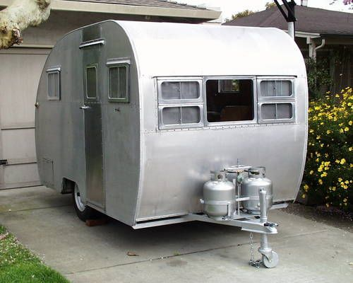 1950 Aljo Sportsman Trailer This Looks Like The First Trailer My