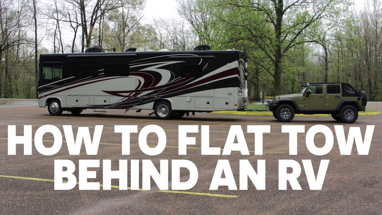 How do you tow a car behind an rv? Learn the best options