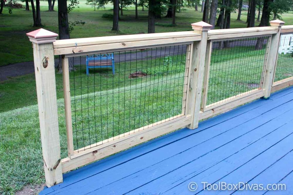 Simple Easy Custom Diy Deck Railings Wire Deck Railing Diy Deck Deck Railings