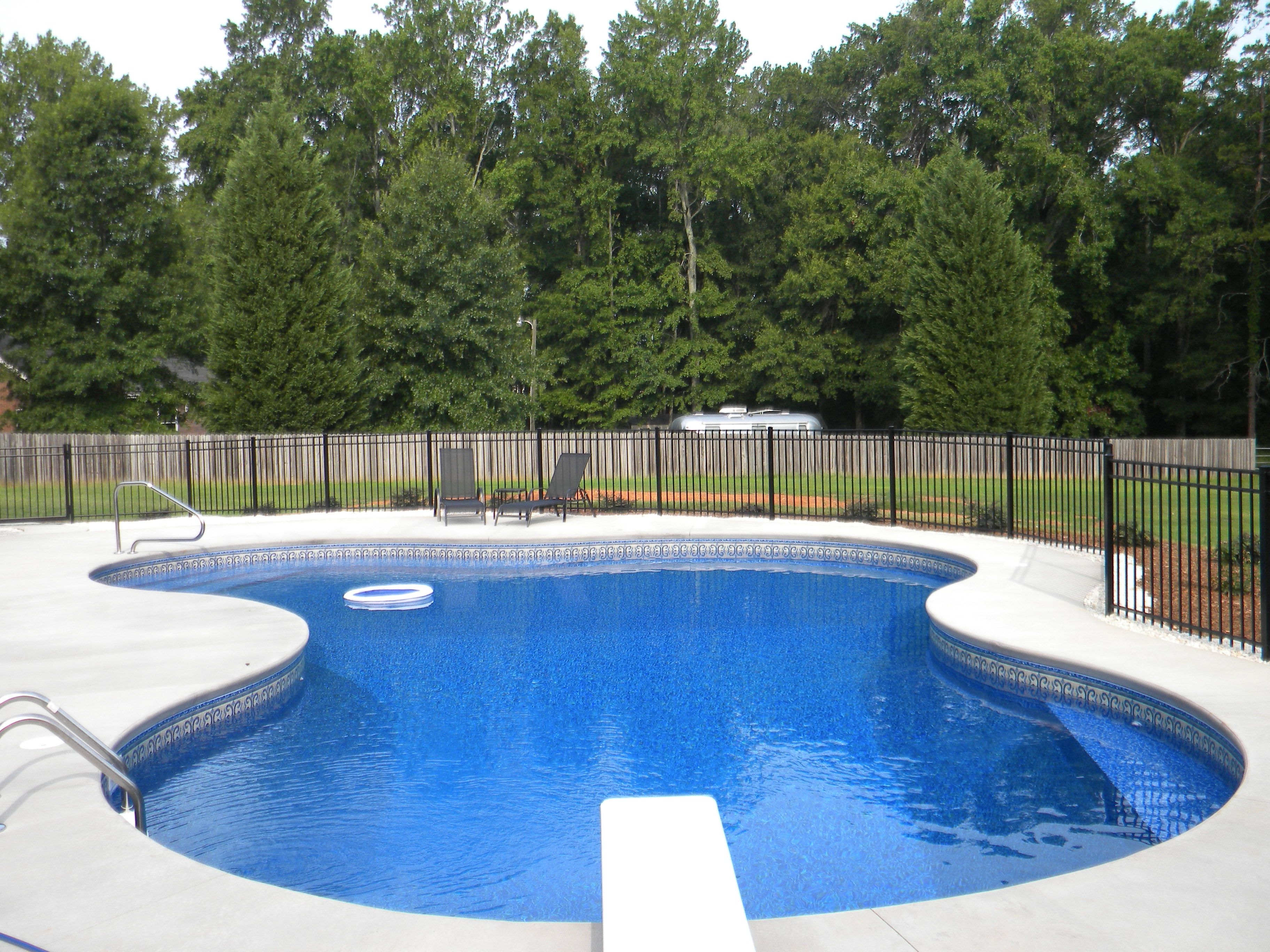 Vinyl Pool with swim out | Residential Pools | Pinterest | Pool ...