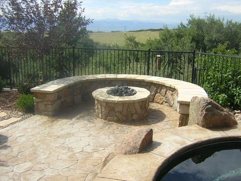 Fire Pits Bench Seats Outdoor Fireplaces Lutz Florida Fl