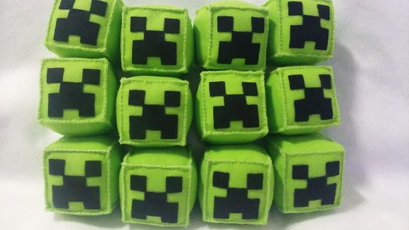 Minecraft Feltro Creeper