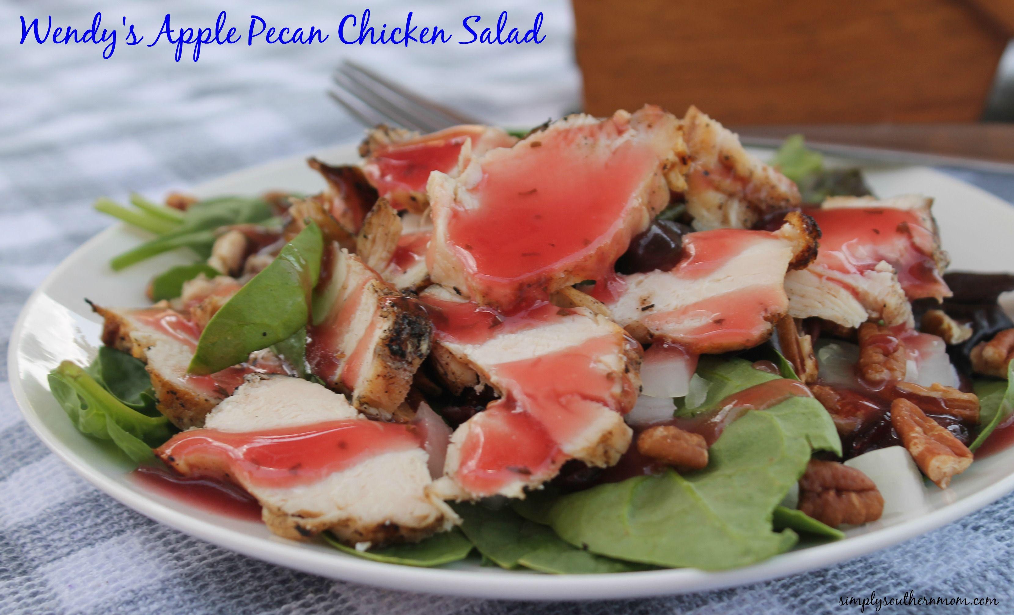 Copycat Wendy's Apple Pecan Chicken Salad Recipe (Gluten Free)