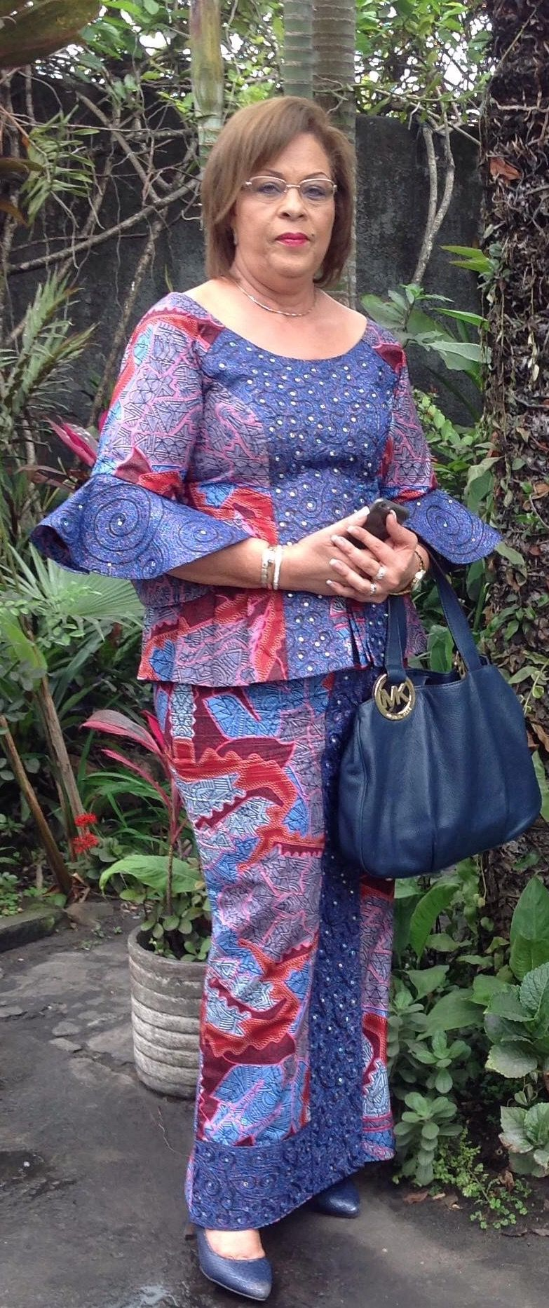 Image result for model pagne africain simple   African fashion, African attire, African fashion ...