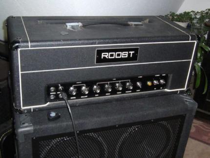 Roost wie Hiwatt Sound City Bass Gitarre Amp & Case