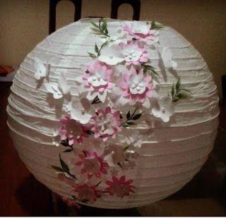 Atelier Hayashi  Luminária Japonesa Decorado  diy  artesanato  lustre   japonês  luminária  oriental f2ba5c3efe3