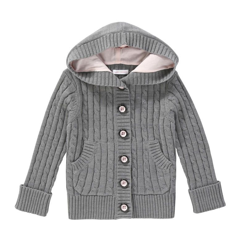 Toddler Girls' Hooded Cable Knit Sweater from Joe Fresh. Dress ...