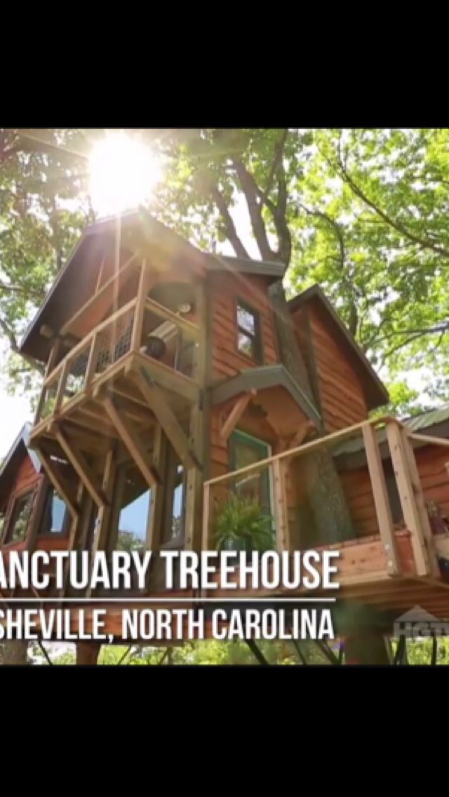 Sanctuary Treehouse | Asheville, NC