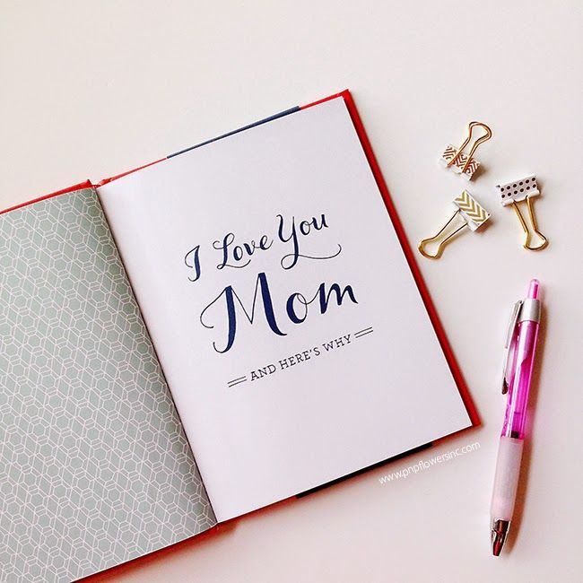 Pen n paper flowers gift idea i love you mom book by mh clark pen n paper flowers gift idea i love you mom book by mh mightylinksfo