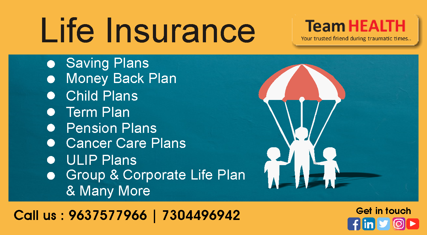 Secure your family's future and avail Team health Term