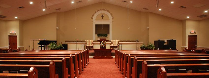 Small Church Sanctuary | Baptist Church Interior The Cross Baptist Church,