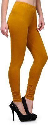 45f3bc1cb835eb Ffu Women's Leggings - Buy Yellow Ffu Women's Leggings Online at Best Prices  in India @