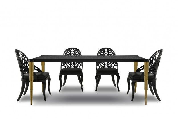 Furniture Legs India di-gran dining table with stainless steel legs and pvd coating