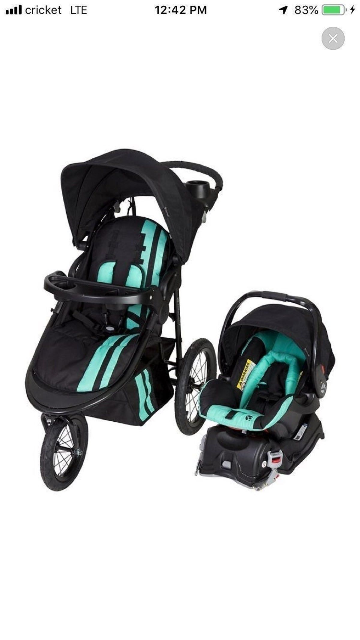 Baby Trend Jogger Travel System in 2020 Baby trend