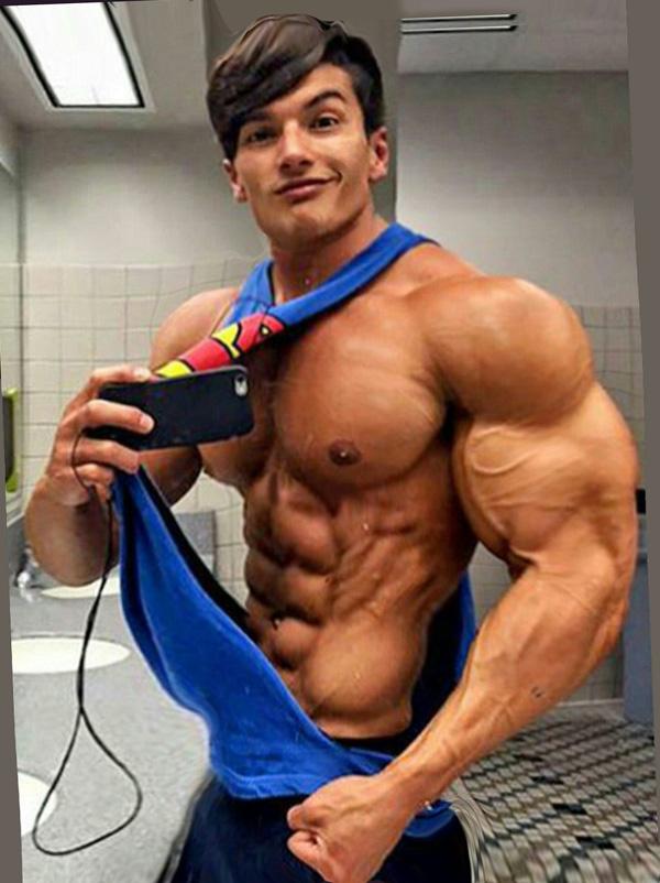 Built By Tallsteve Super Man Jr Muscle Men Muscle Muscle Boy