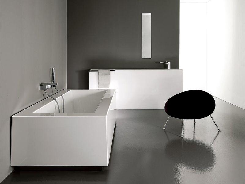 Vasche Da Bagno Zucchetti : Vasca da bagno rettangolare grande by kos by zucchetti design