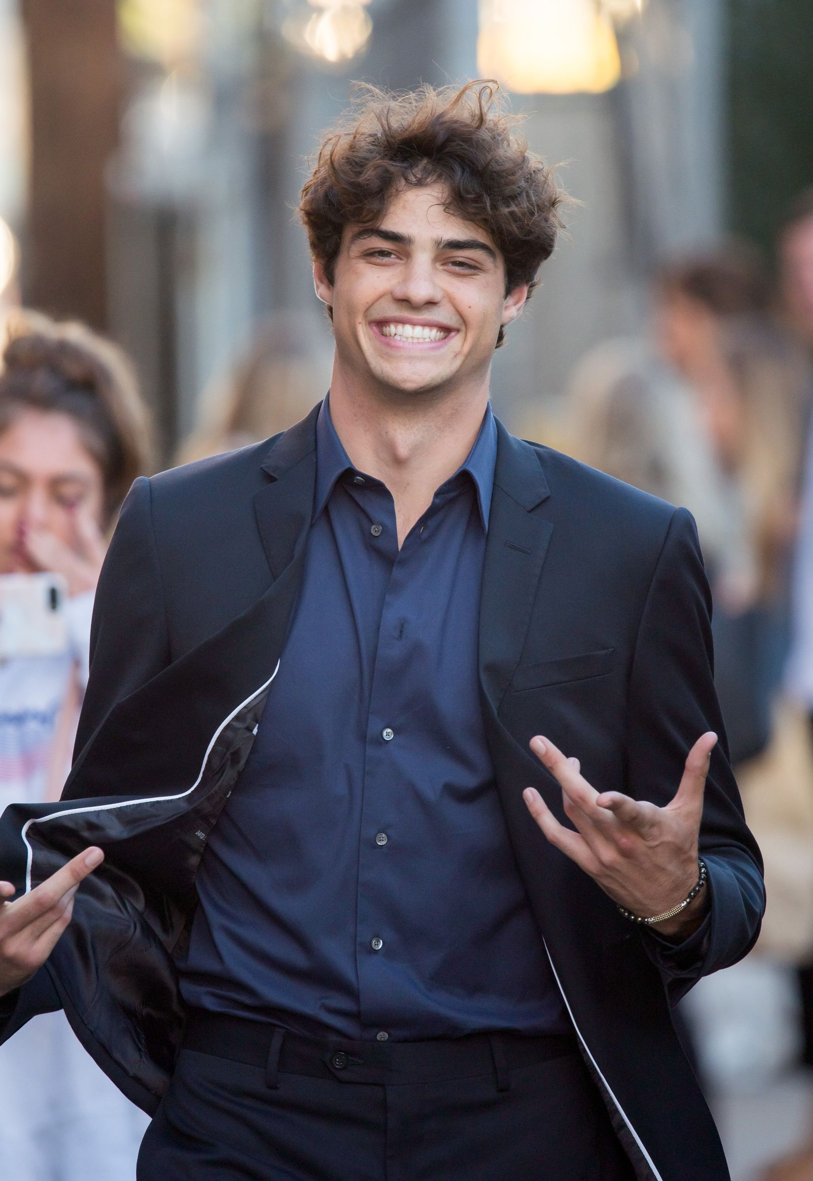 Noah Centineo Was Being Stalked by Fans, and Calls the Experience Scary