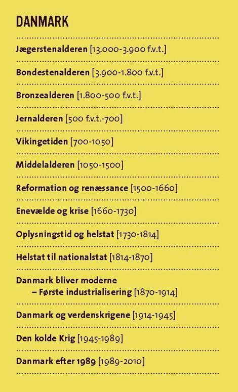 Historie Gyldendal Dk Perioder I Historien Skole Hacks Skole Skole Billeder