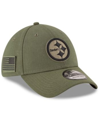 20f585026 New Era Pittsburgh Steelers Salute To Service 39THIRTY Cap - Green S ...