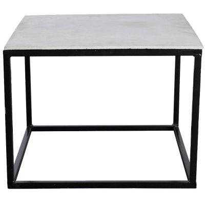Betongbord, matt svart 60x60 i gruppen Möbler / Bord / Soffbord hos RUM21.se (113507)
