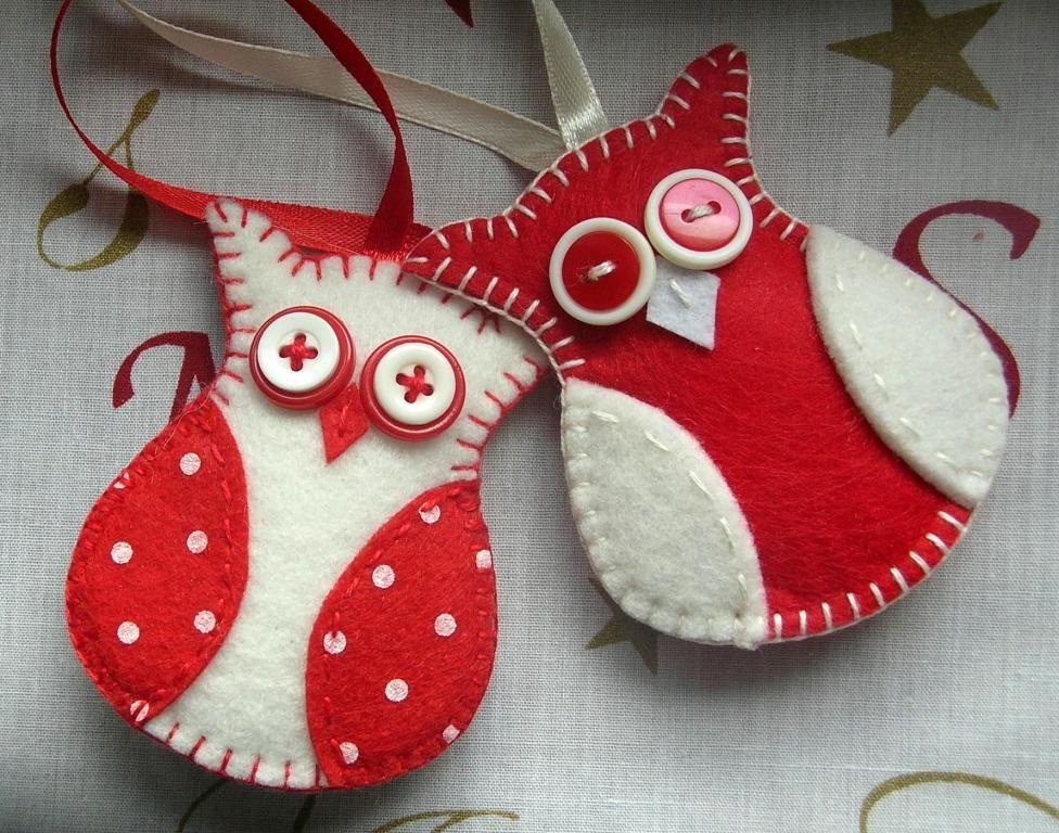 Ozdoby Choinkowe Swiateczne Z Filcu Na Choinke 5768466806 Oficjalne Archiwum Allegro Felt Crafts Crafts Christmas Ornaments