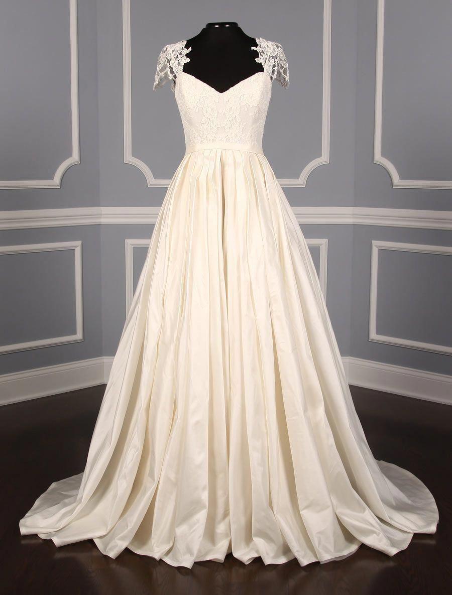 This Ulla Maija Anna Maier Renee 4506 Wedding Dress Is Brand New You Will F Discount Designer Wedding Dresses Satin Mermaid Wedding Dress Aline Wedding Dress