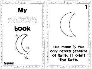 A day in first grade: Blast Off to the MOON! 2 moon reader