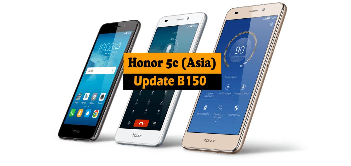 Honor 5c NEM-L22 Firmware B150 Full Update (Asia) | Ministry