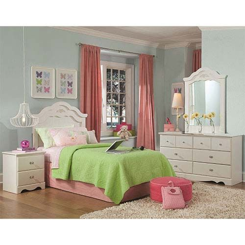 Standard-Daphne-Twin-4-Piece-Youth-Bedroom-Set | pictures | Pinterest