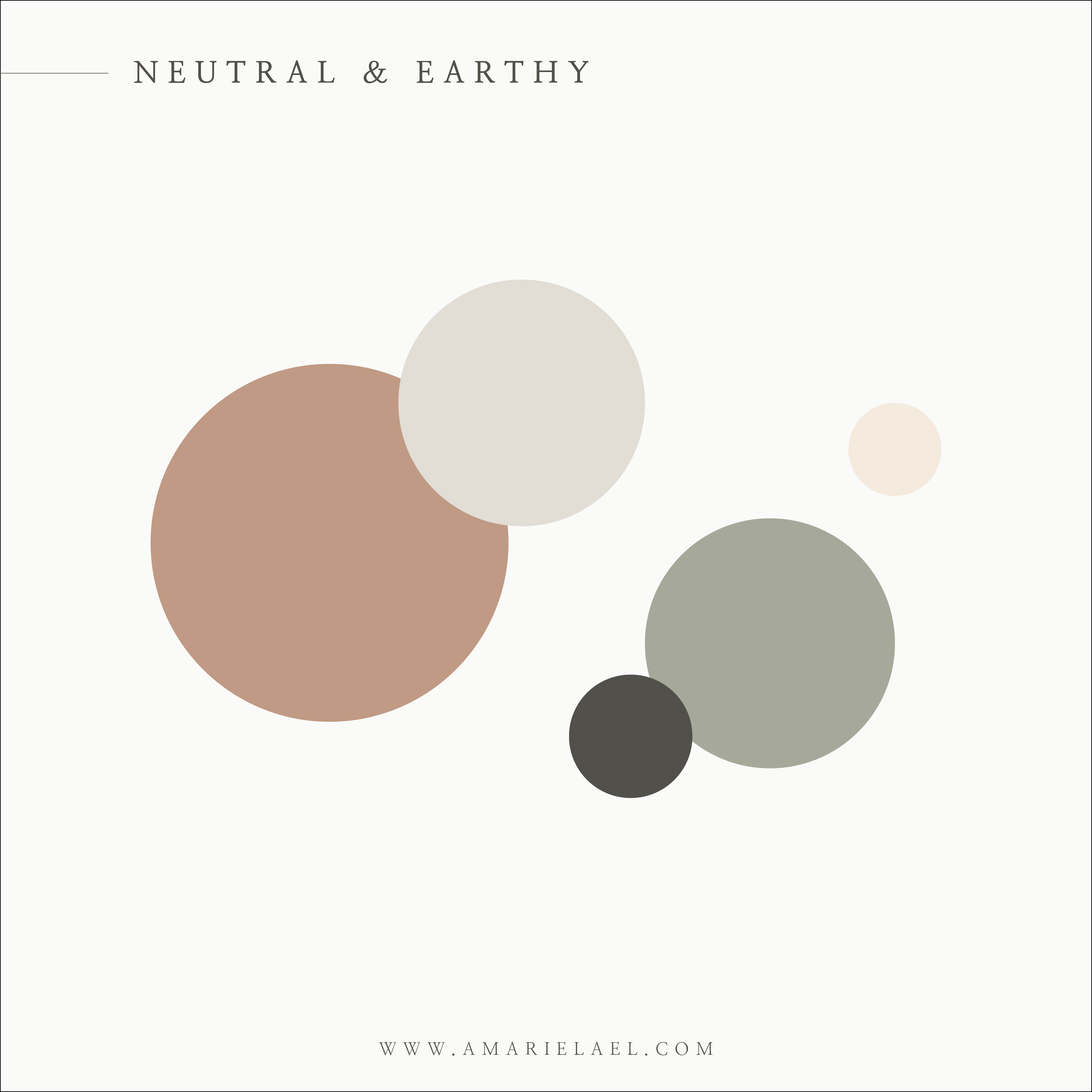 neutral and earthy color palette inspiration amarie lael design in 2020 earthy color palette sage color palette beige color palette pinterest