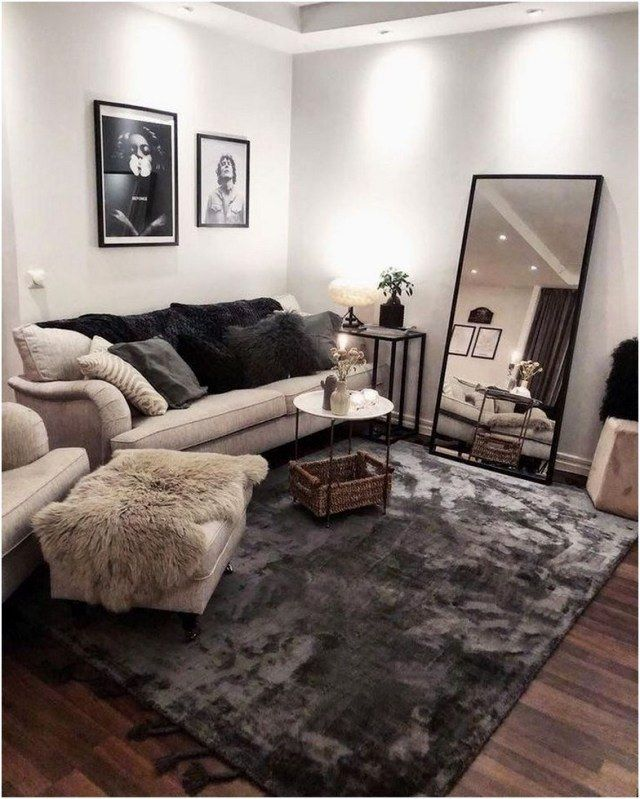 Photo of 58 Remodel Apartment Living Room Decorating Ideas That Make You Be At Home 54