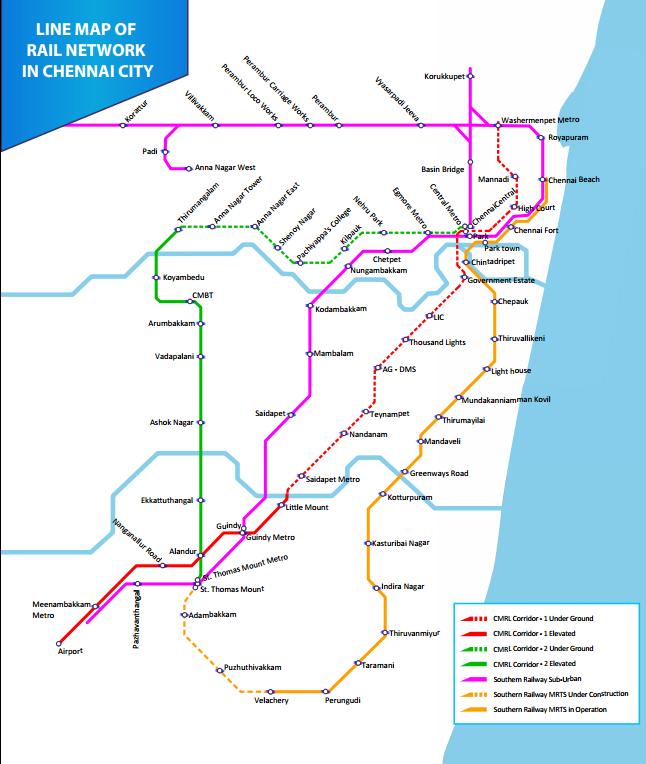 Chennai Rail - Chennai Metro - Wikipedia | Chennai metro ...